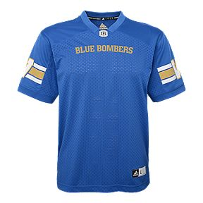 b0a84d2fcd1 Winnipeg Blue Bombers Toddler Replica Football Jersey