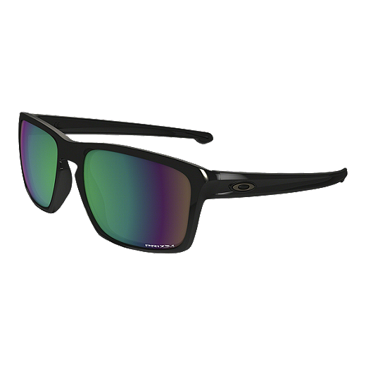dc6615ef26 ... closeout oakley sliver polarized sunglasses polished black with prizm  shallow water lenses 0a854 f9bf2