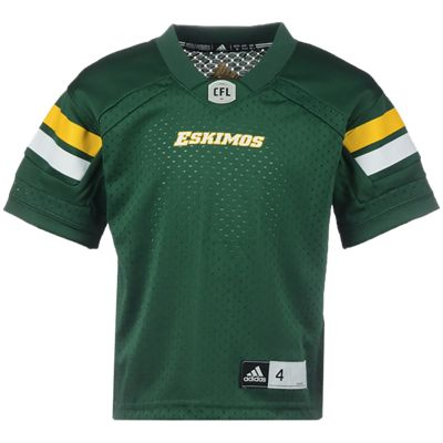 Edmonton Eskimos Little Kids' Replica Home Football Jersey
