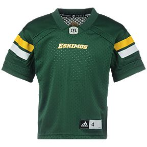 63fa4a5b4e9 Edmonton Eskimos Little Kids  Replica Home Football Jersey
