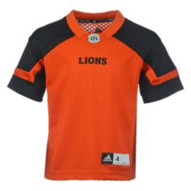 BC Lions Little Kids' Replica Home Football Jersey
