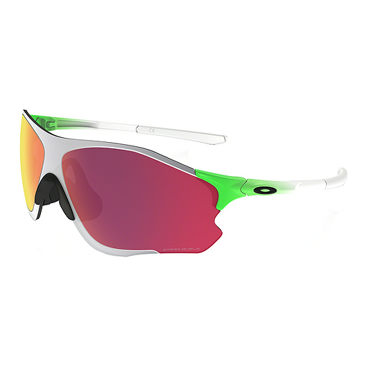 ed6f8e87c4 Oakley Zero 0.8 Sunglasses- Neon Green Fade with Prizm Baseball Outfield  Lenses