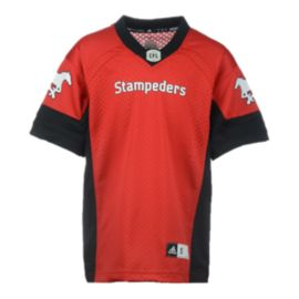 Calgary Stampeders Kids' Replica Home Football Jersey