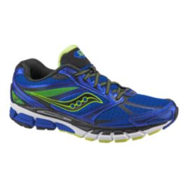 Saucony Men's PowerGrid Guide 8 Running Shoes - Blue/Yellow
