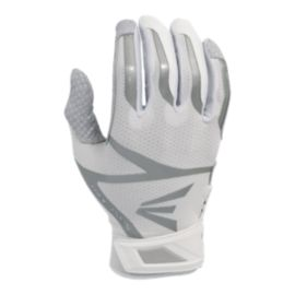Easton Z10 Whiteout Batting Gloves - White
