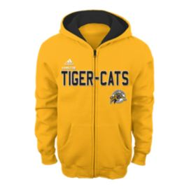 Hamilton Tiger-Cats Kids' Stated Full Zip Hoodie