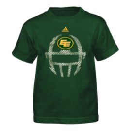 Edmonton Eskimos Little Kids' Helmet T Shirt