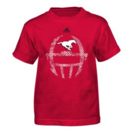 Calgary Stampeders Little Kids' Helmet T Shirt