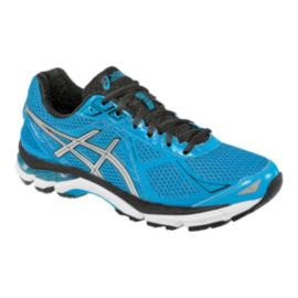 ASICS Men's GT-2000 3 Running Shoes - Blue/Black/Silver