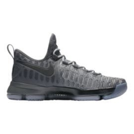 Nike Men's Zoom KD IX Basketball Shoes - Grey