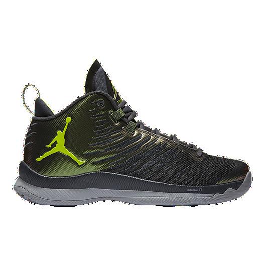 bd1954d46eaa Nike Men s Jordan SuperFly 5 Basketball Shoes - Black Green