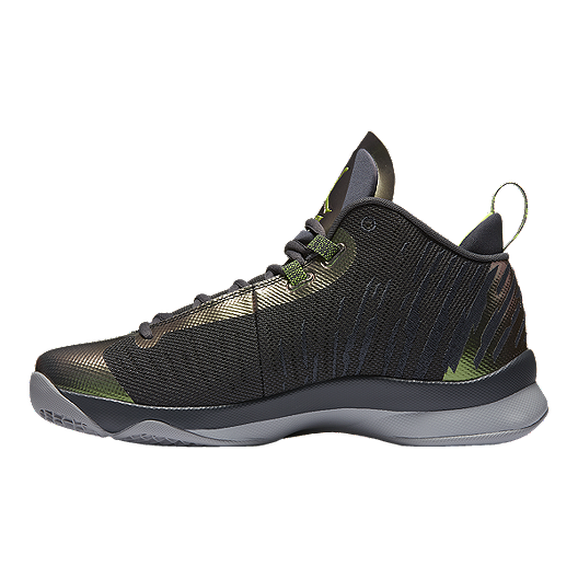 d33e440fee56 Nike Men s Jordan SuperFly 5 Basketball Shoes - Black Green. (1). View  Description