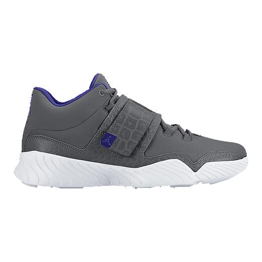 f0d67b32f25 Nike Men's Jordan J23 Basketball Shoes - Grey/Blue/White | Sport Chek