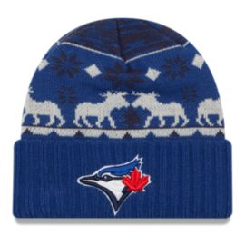 Toronto Blue Jays Team Mooser Cuff Knit Beanie