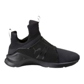 PUMA Women's Fierce Quilted Shoes - Black
