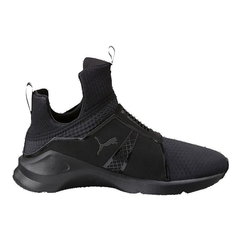 PUMA Women's Fierce Quilted Shoes Black | Sport Chek