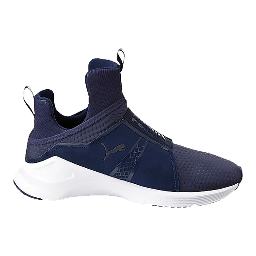 1172e4454bb PUMA Women s Fierce Quilted Shoes - Navy