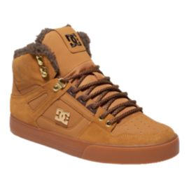 DC Men's Spartan WC WNT High-Top Skate Shoes - Wheat