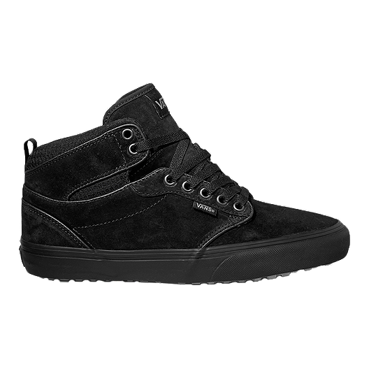 888b12719b Vans Men s Atwood HI (MTE) Skate Shoes - Black