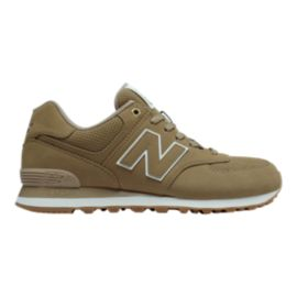 New Balance Men's ML574 (Outdoor) Shoes - Linseed