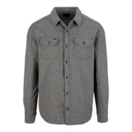 Fox Silt Men's Long Sleeve Flannel