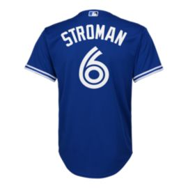 Toronto Blue Jays Kids' Marcus Stroman Cool Base Replica Baseball Jersey