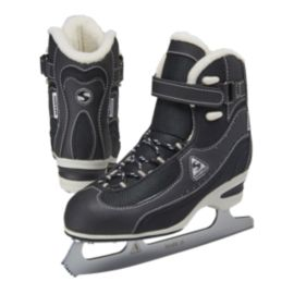 Softec Vantage Plus Figure Skates - Black