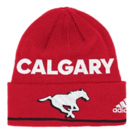 Calgary Stampeders Coaches Cuffed Knit Beanie