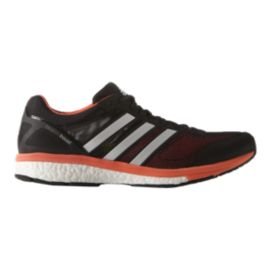 adidas Men's Adizero Boston 5 Running Shoes - Black/Orange/White