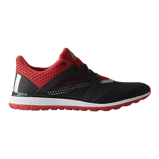 b7b7a3f42 adidas Men s Energy Bounce 2.0 Running Shoes - Black Red White ...
