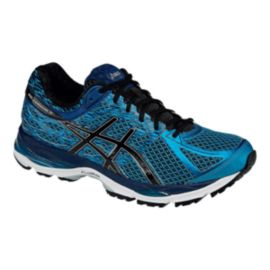 ASICS Men's Gel Cumulus 17 Running Shoes - Metallic Blue/Navy