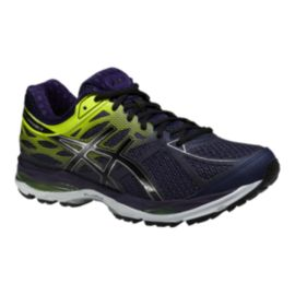 ASICS Men's Gel Cumulus 17 Running Shoes - Indigo Purple/Lime Green