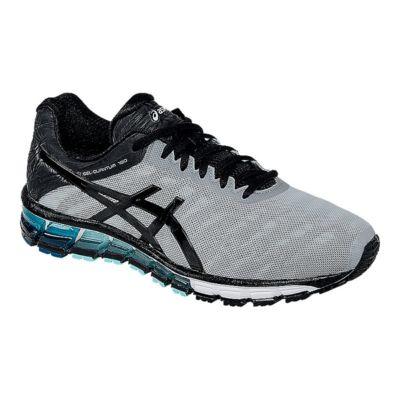 ASICS GEL-Quantum 180 3 Running Shoe(Men's) -Mid Grey/Black