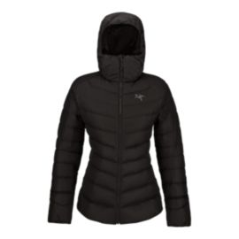 Arc'teryx Women's Thorium AR Down Hooded Jacket - Black - Prior Season