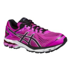 ASICS Women's GT-1000 4 GTX Running Shoes - Pink/Black