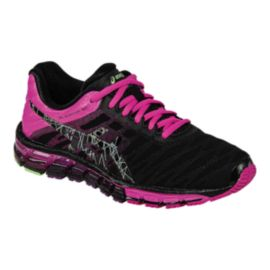 ASICS Women's Gel Quantum 180 Running Shoes - Black/Pink