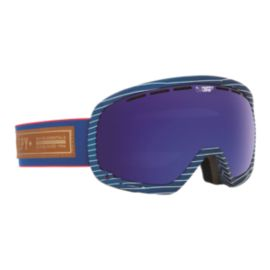 Spy Marshall Heritage Gray Goggles with Happy Dark Blue Spectra Lenses