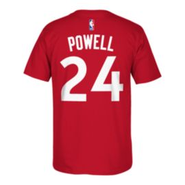 Toronto Raptors Powell Game Time Tee - Red