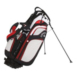 Callaway Fusion 14 Hybrid Stand Bag - White/Black/Red