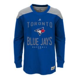 Toronto Blue Jays Kids' Legend Long Sleeve T Shirt