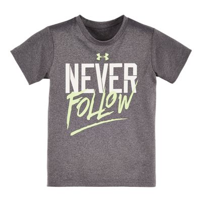 Under Armour Boys' 4-7 Never Follow Short Sleeve T Shirt