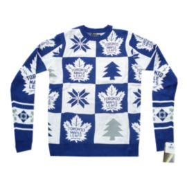 Toronto Maple Leafs Patches 2.0 Ugly Sweater