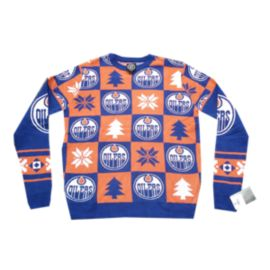Edmonton Oilers Patches 2.0 Ugly Sweater