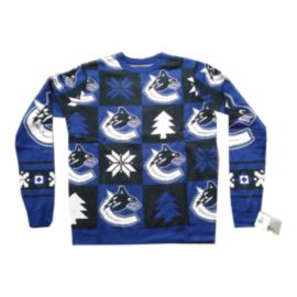 Vancouver Canucks Patches 2.0 Ugly Sweater