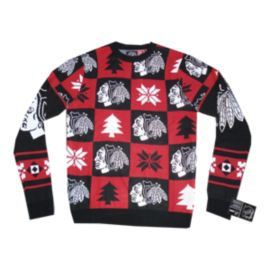 Blackhawks Patches 2.0 Ugly Sweater