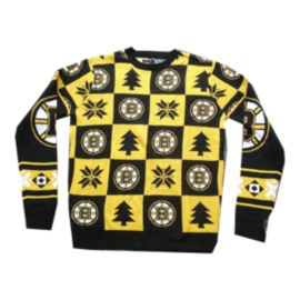 Bruins Patches 2.0 Ugly Sweater