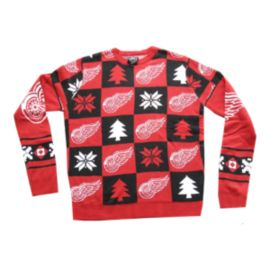 Red Wings Patches 2.0 Ugly Sweater