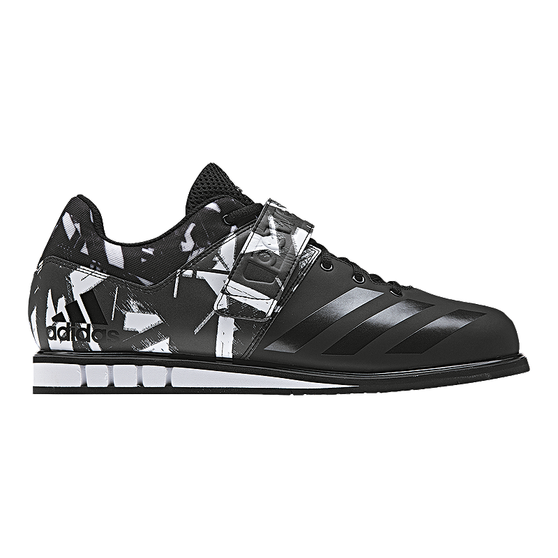 Adidas Men S Powerlift  Weightlifting Shoes Black Camo