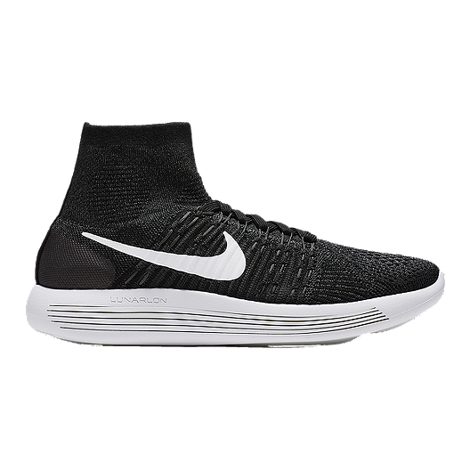ef46460f78cc Nike Women s LunarEpic FlyKnit Running Shoes - Black White