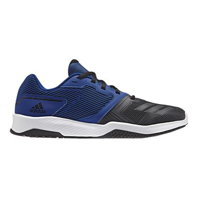 adidas Men's Gym Warrior 2 Training Shoes - Blue/Black